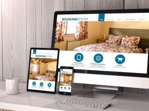 devices responsive on workspace book room online